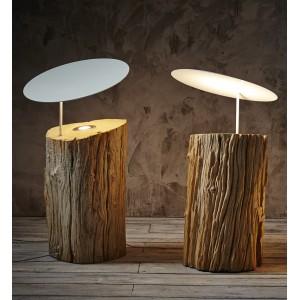 Set de 2 lampes à poser H.60 et 70cm Kihei