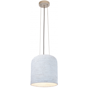 Suspension blanche D.37cm Lopa