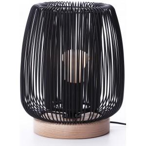 Lampe à poser métal noir D.19,5cm Light