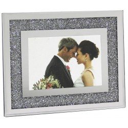 Cadre photo diamants miroir Moy