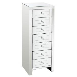 Chiffonier 7 tiroirs miroir Moy