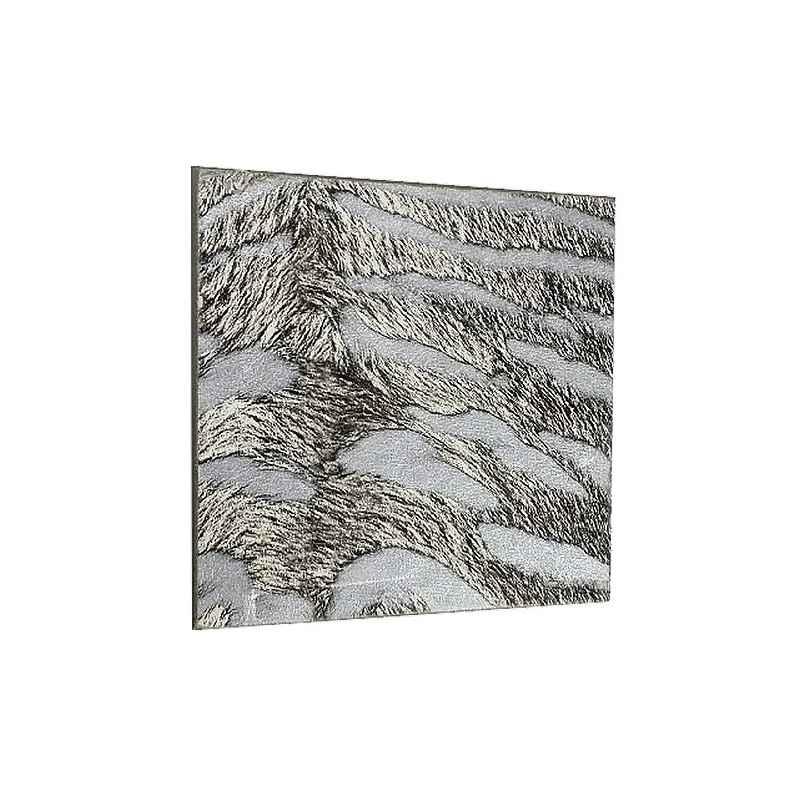 Dessous de verre carré jungle zèbre