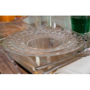 Assiette plate plexiglas D.20 Urban chic