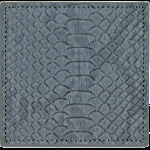 Dessous de verre serpent gris