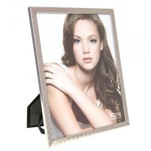 Cadre photo en métal design croisillon 20x25