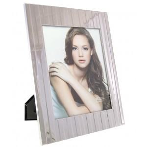 Cadre photo en métal 20x25 design ligne