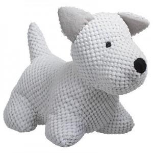 Cale-porte chien gris clair