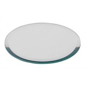 Miroir rond biseauté D.12,5 cm