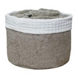 Panier de 6 serviettes naturel