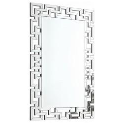 Miroir rectangle labyrinthe L.80 x H.120 cm