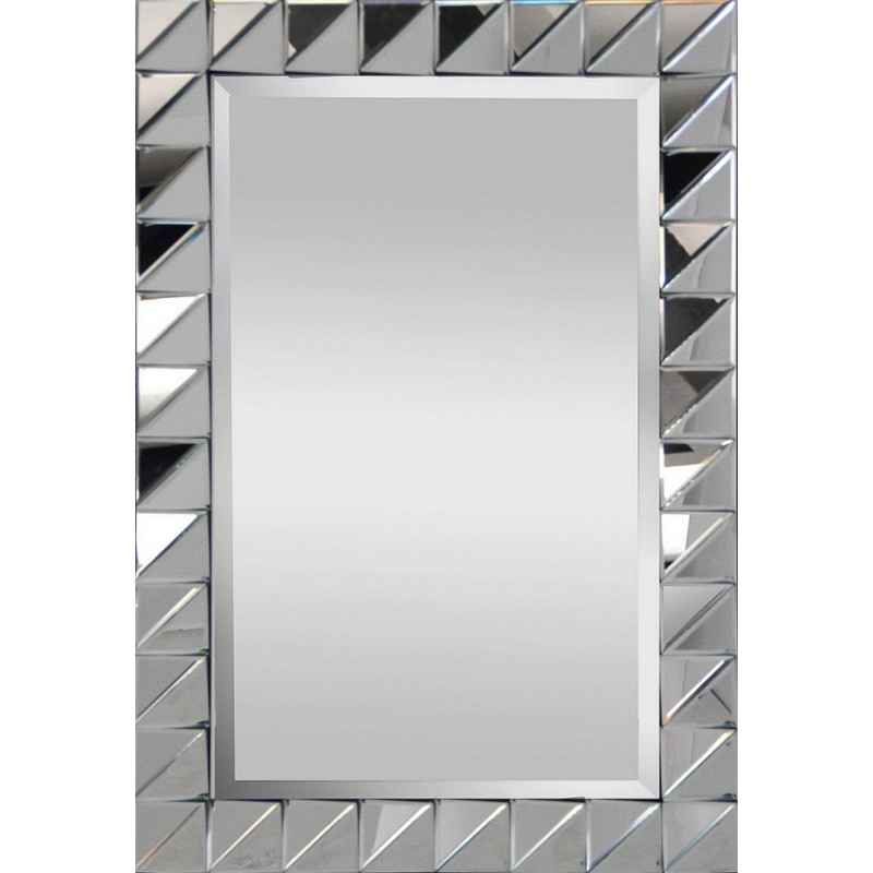 Miroir rectangle triangle L.90 x H.60 cm