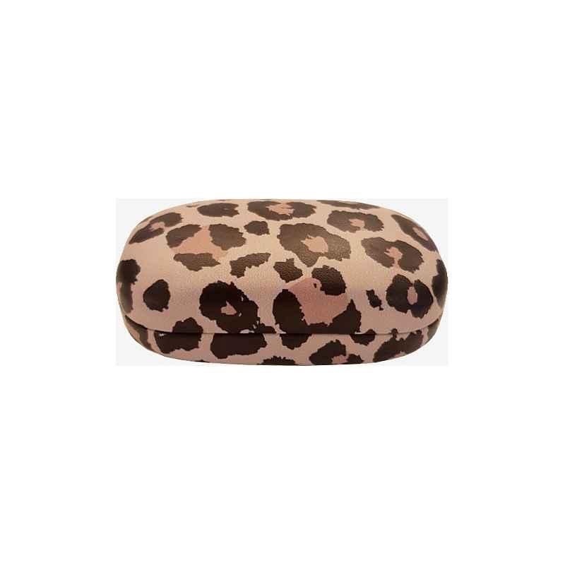 Boîte à écouteurs léopard