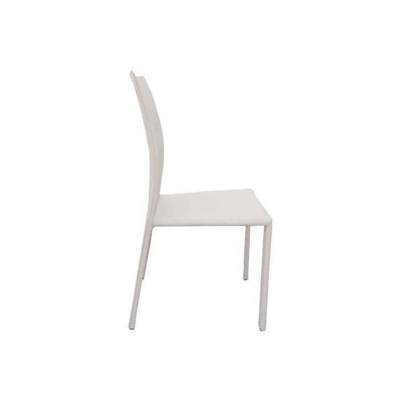 Chaise Liel blanche