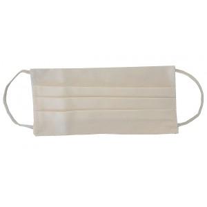 Masque H/F en tissu blanc normes AFNOR