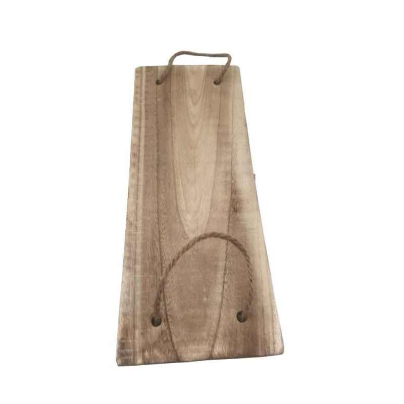 Plateau rectangulaire en bois flotté L.50 x l.20 cm