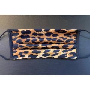 Masque H/F en tissu léopard normes Afnor