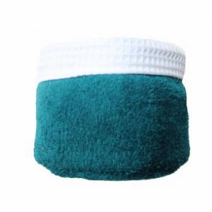 Panier de 6 serviettes bleus canard