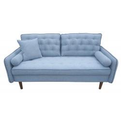 Canapé 3 places You gris bleuté L.175 x l.82 x H.90cm