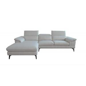 Canapé d'angle 3 places beige