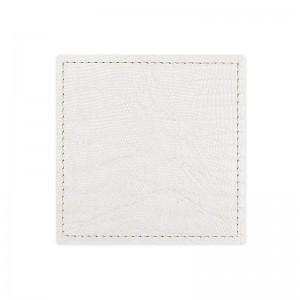 Dessous de verre lézard blanc
