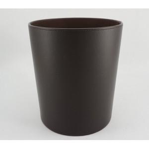 Corbeille à papier marron foncé D25.5 x H28cm