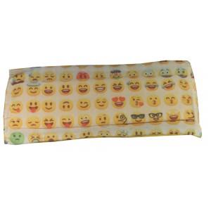 Masque H/F en tissu smiley normes AFNOR