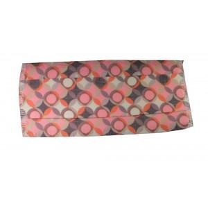 Masque H/F en tissu rose rosace normes AFNOR