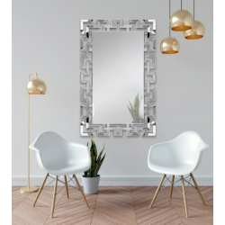 Miroir rectangle labyrinthe L.80 x H.120 cm