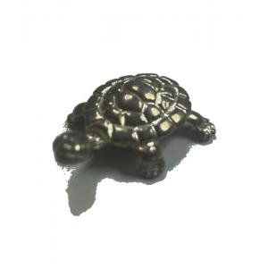 Statuette tortue en étain