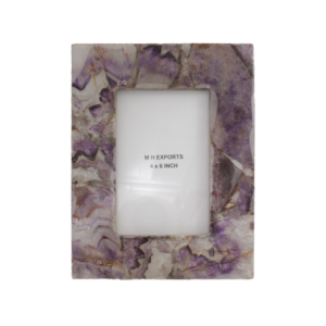 PU Cadre photo marbre violet PM