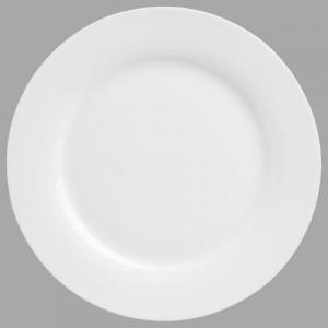Assiette à dessert ronde porcelaine blanche