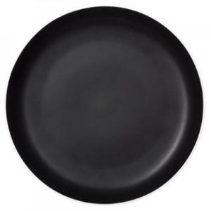 Assiette plate noir mat 26cm